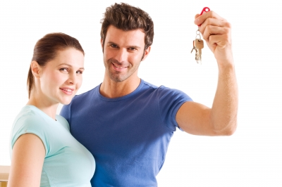 couples with keys purchase