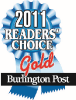 Burlington Post Readers Choice Award